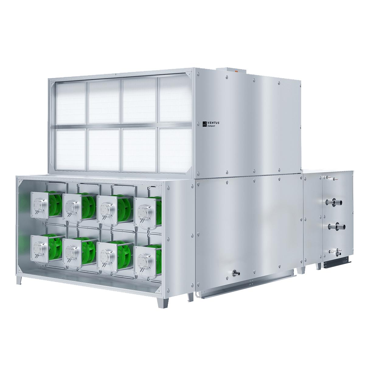 Ventus luchtbehandelingskast compact vvs 150c